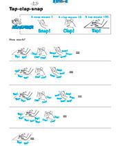 Tap-Clap-Snap